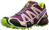SalomonSpeedcross 3 - Zapatillas de running mujer, Violeta, 42 2/3