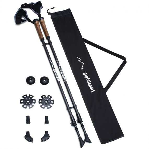 bastones gipfelsport carbon nordic walking