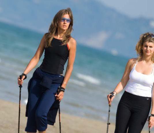 perder peso con la Marcha Nórdica