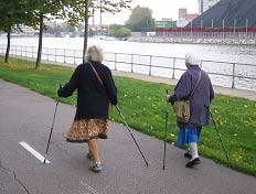 nordic walking telómeros