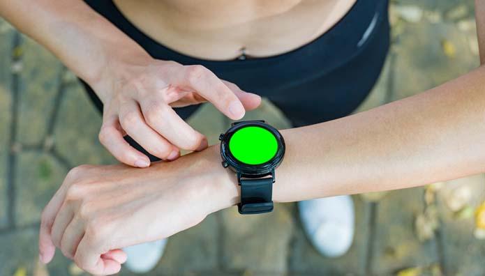 smartwatch relojes marcha nórdica