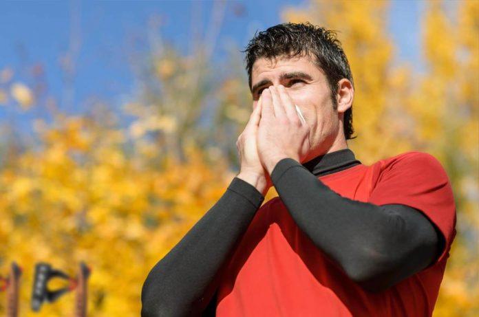 alergias en la marcha nórdica