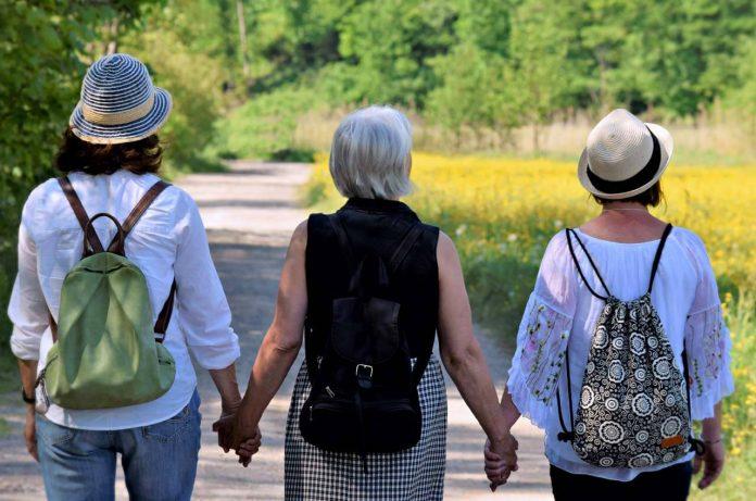 menopausia y la marcha nórdica