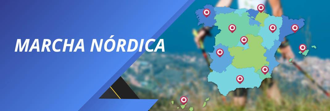 clubs asociaciones marcha nórdica españa
